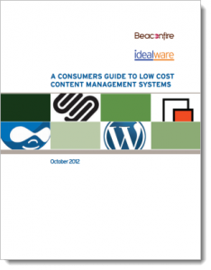 A Consumers Guide to Low Cost Nonprofit Content Management Systems