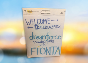 Fionta hosts a Dreamforce Viewing Party