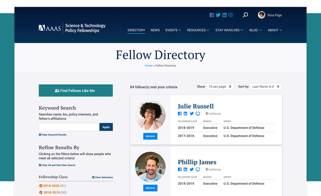 AAAS Fellows Directory