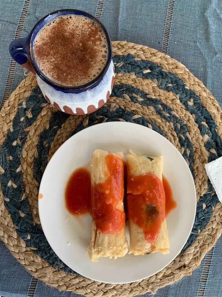 Britzel's homemade tamales!