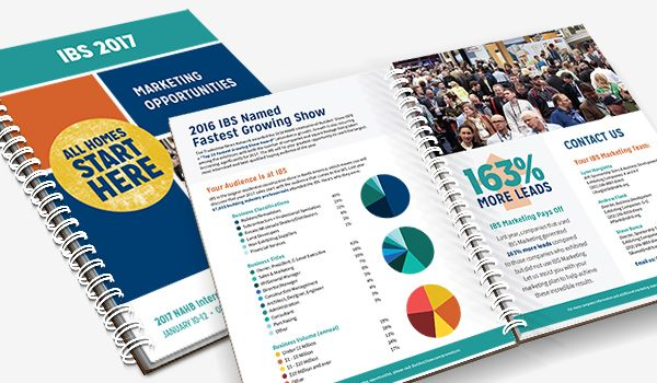 Brochure design for International Builders' Show (IBS)