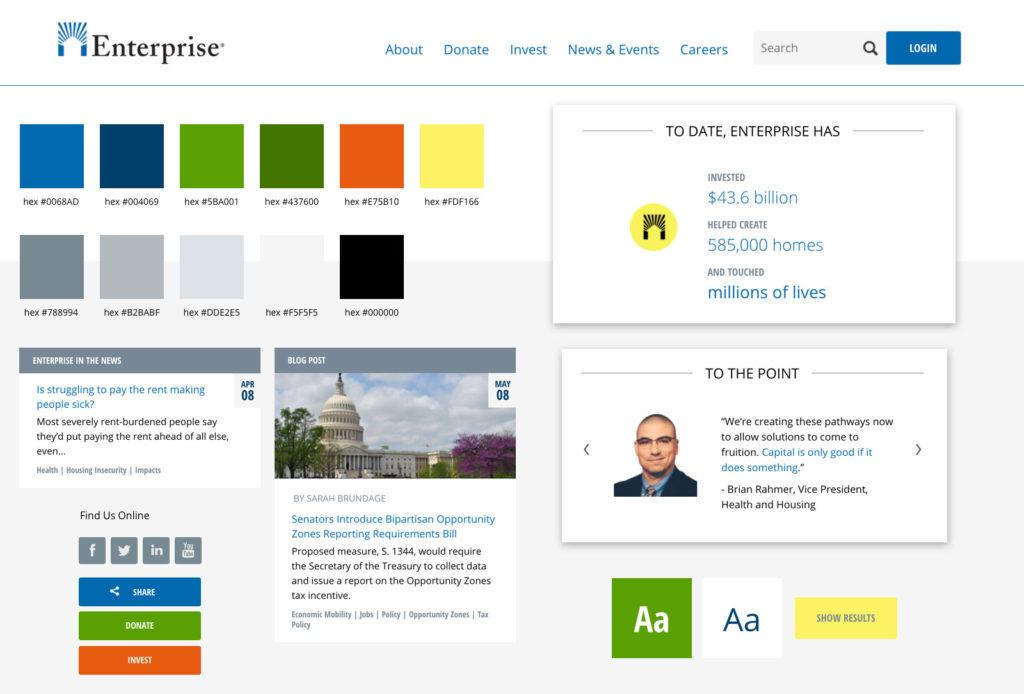 Enterprise Community Partners Style Guide