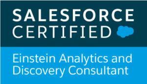Salesforce Certified Einstein Analytics and Discovery Consultant