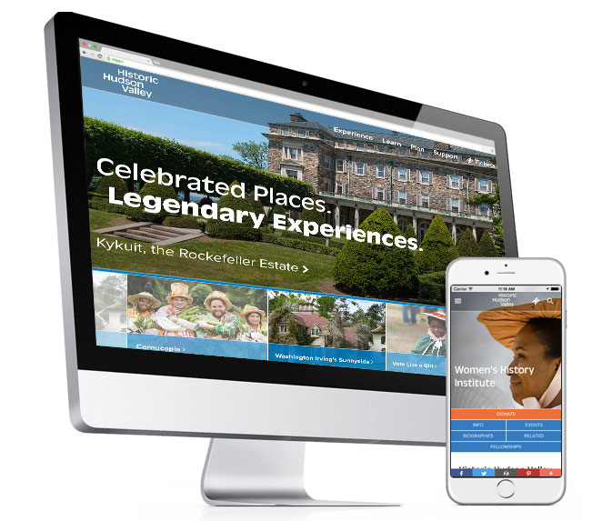 Historic Hudson Valley WordPress Website