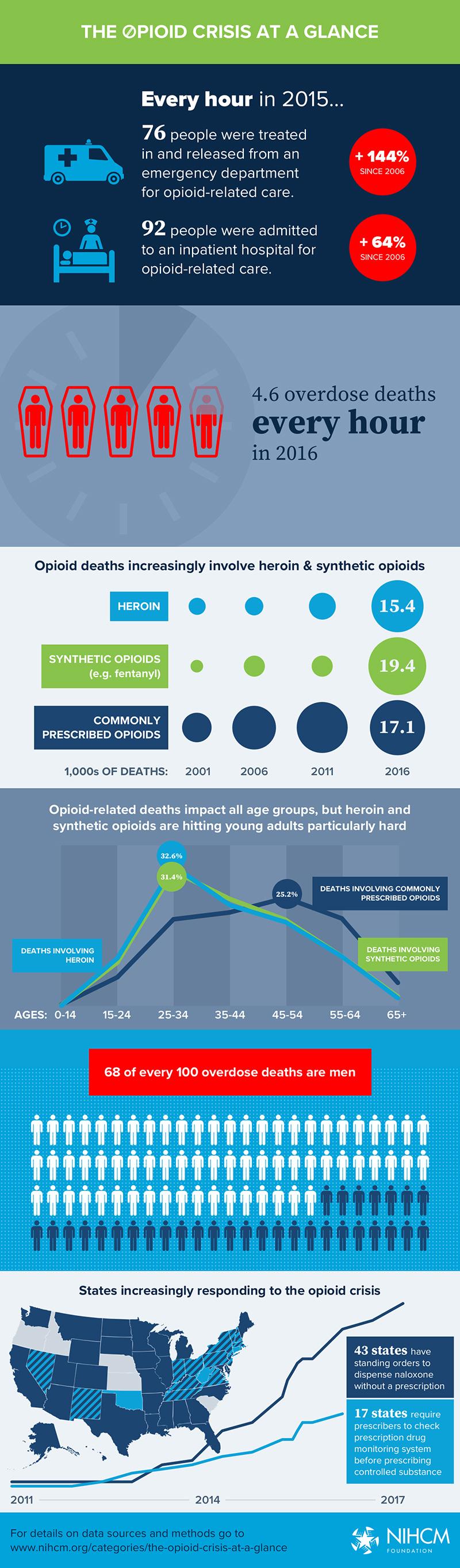 Opioid Crisis Infographic