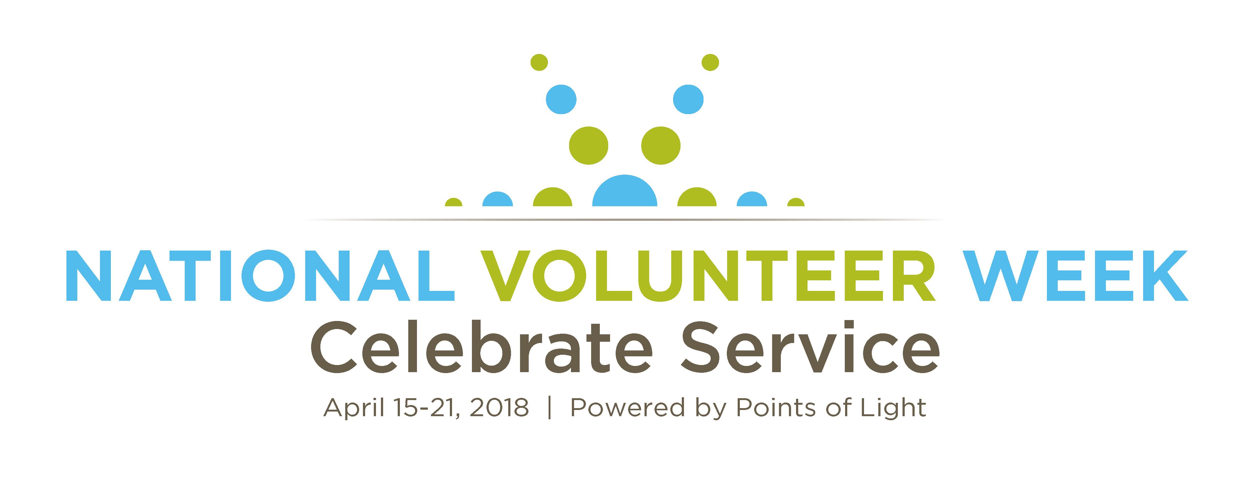 National Volunteer Week   Celebrate Service