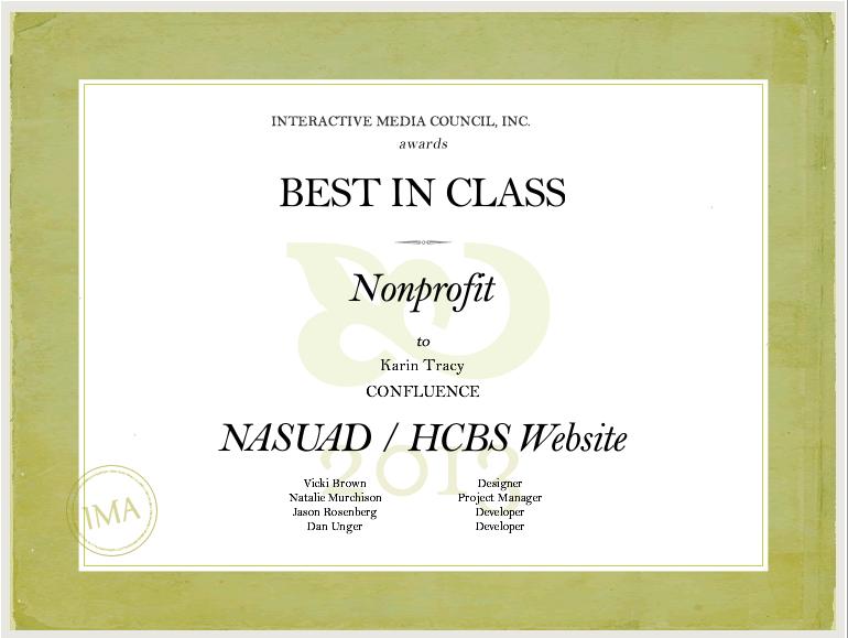 Award-winning web design for nonprofits