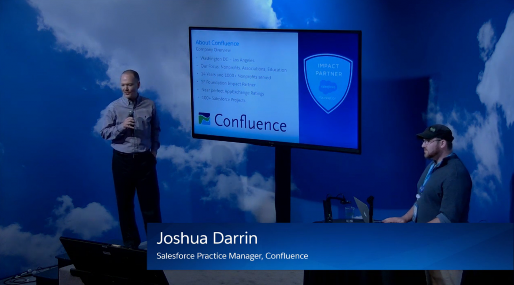 Salesforce Practice Manager, Joshua Darrin of Confluence