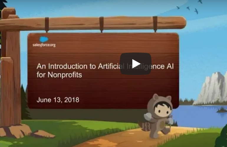 Introduction to Artificial Intelligence (AI) for Nonprofits