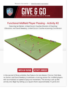 United Soccer Coaches members only email