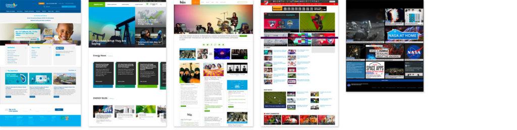 Websites built on Drupal