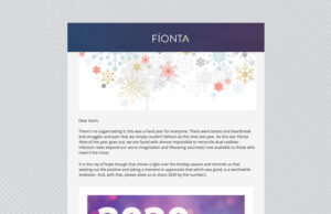Fionta Note, December 2020