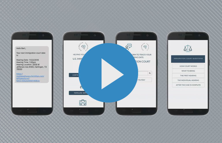 Dreamforce presentation with Mobile Pathways