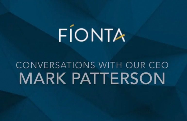 Conversations with our CEO, Mark Patterson