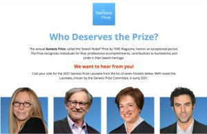 Using FormAssembly to Collect Votes for the Genesis Prize