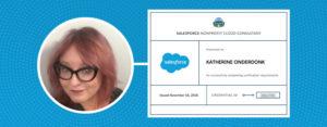 Nonprofit Cloud Consultant Kat Oderdonk
