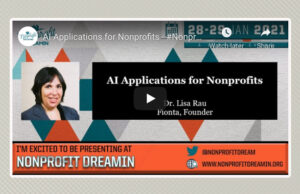 AI Applications for Nonprofits