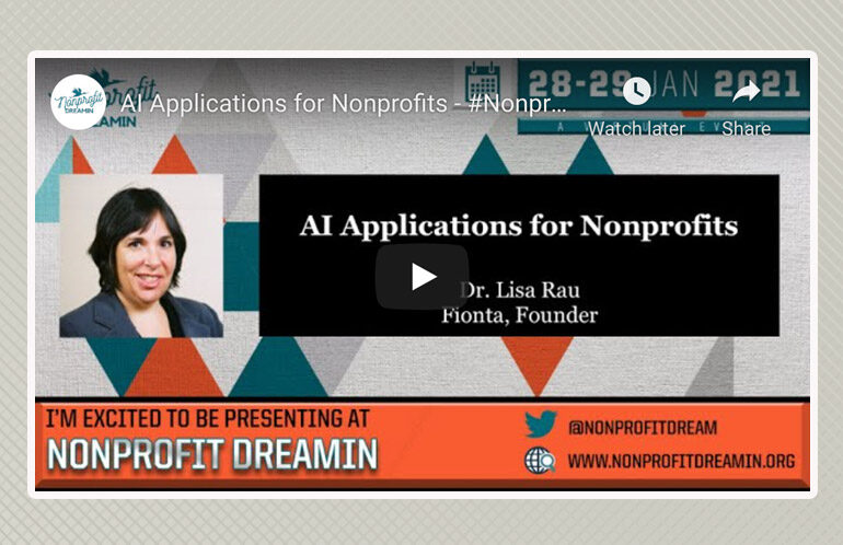 AI Applications for Nonprofits