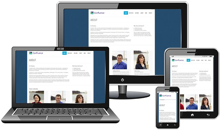 Confluence launches newly designed responsive website